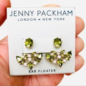 JENNY PACKHAM Crystal Cluster Earrings